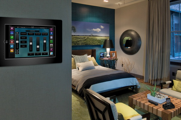 iPad control system for existing lighting, climate-control and security: $2,900