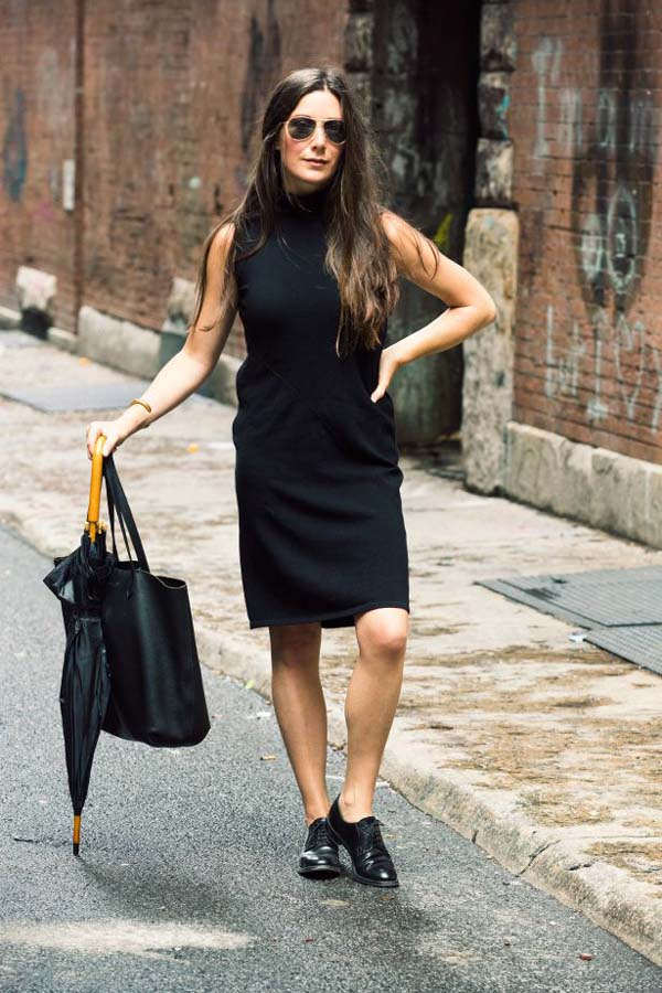 Jamie Beck shares her love of hte Little Black Dress in these 5 styles she is curently wearing in her life in New York.