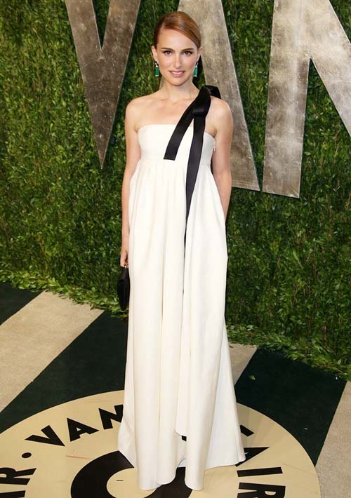 2013 Vanity Fair Oscar Party at Sunset Tower - Arrivals Featuring: Natalie Portman Where: West Hollywood, United States When: 24 Feb 2013 Credit: WENN.com **Not available for publication in Germany**