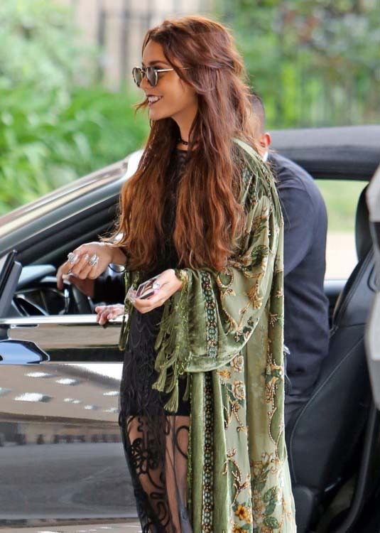 Actress and singer Vanessa Hudgens in West Hollywood, California on May 16, 2013.